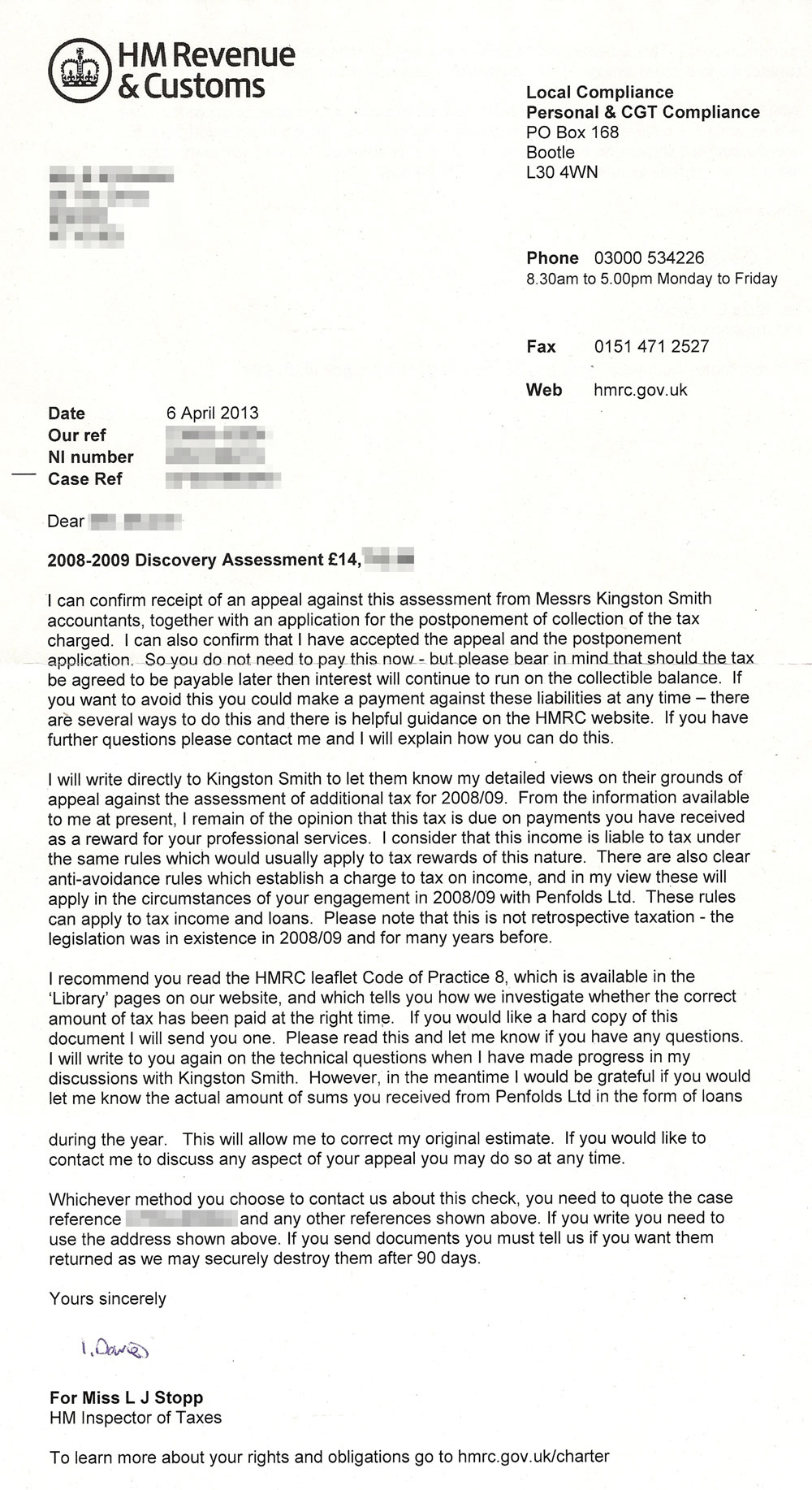 Second-HMRC-Penfolds-letter